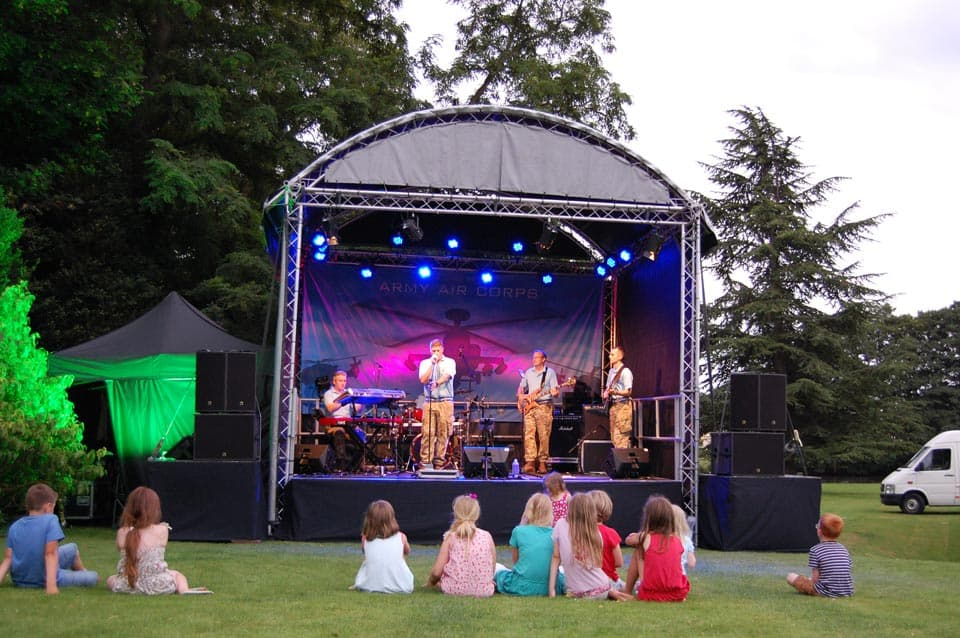 Outdoor Stage & Event Hire Services