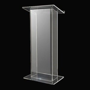Perspex Acrylic Lectern Hire
