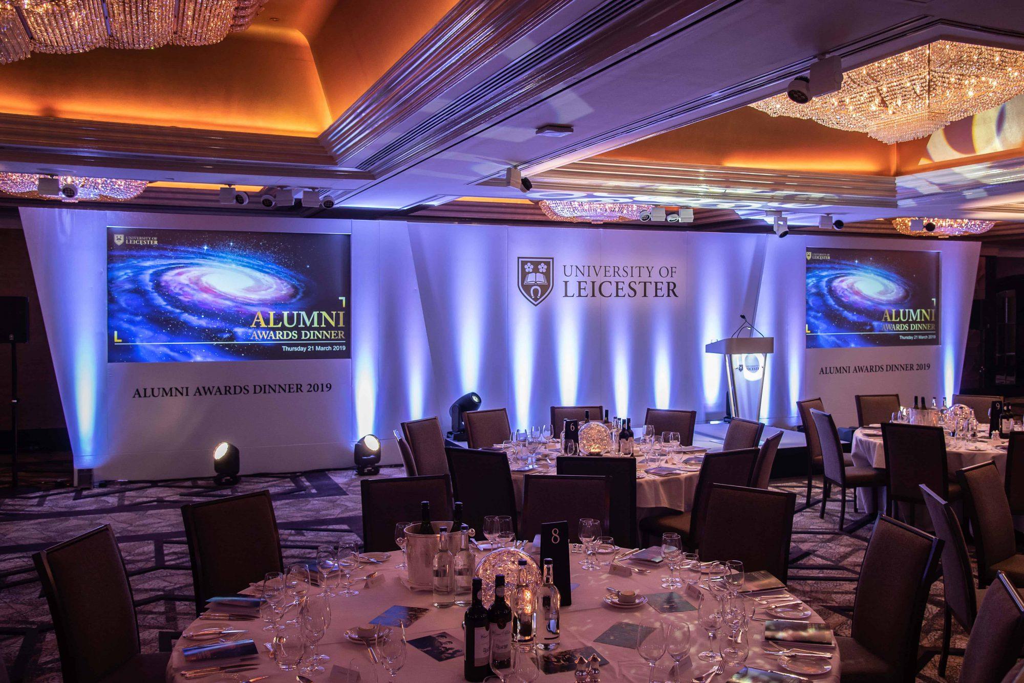 UoL Awards lighting