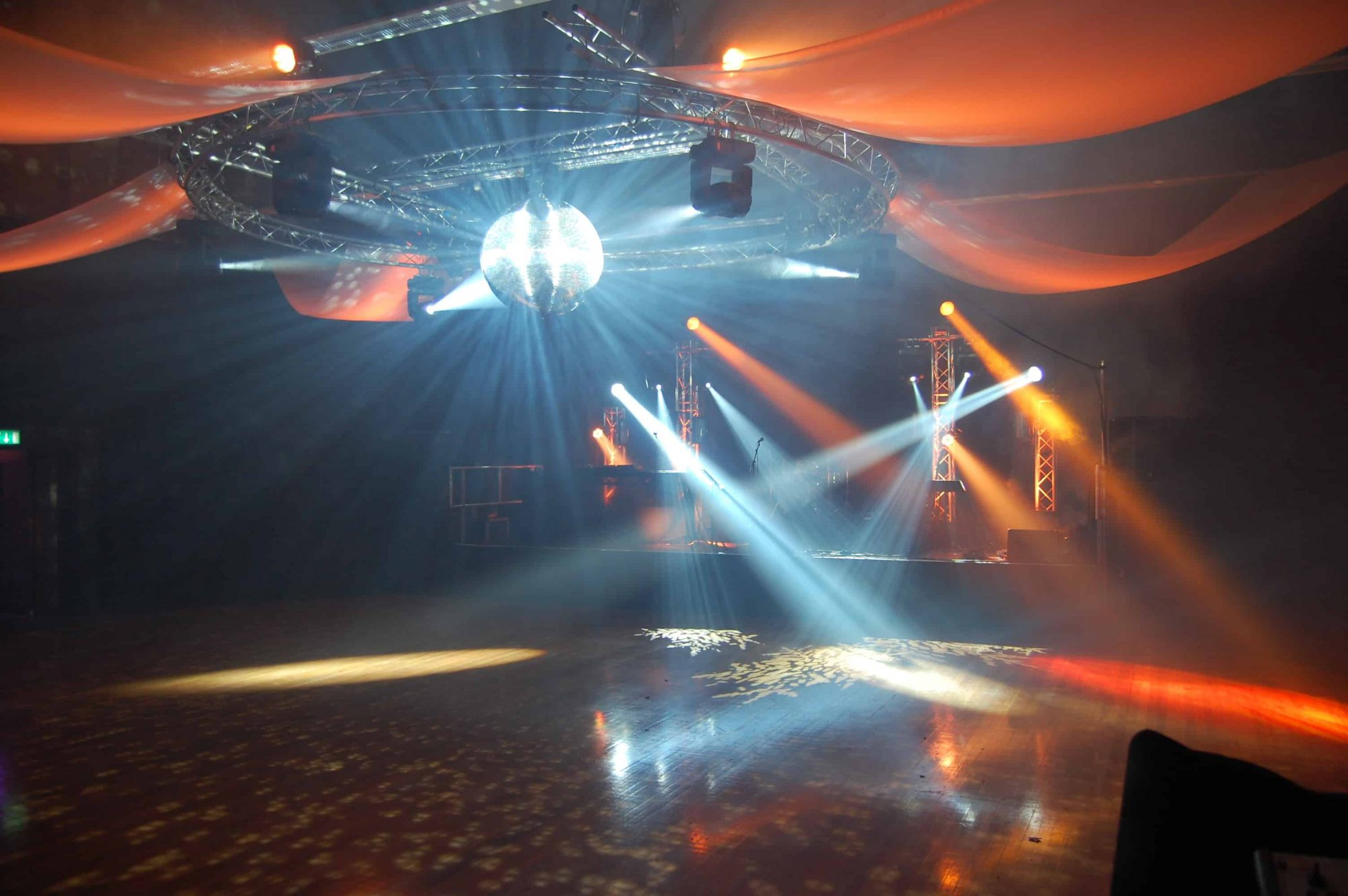 Private Party Lighting PA Hire