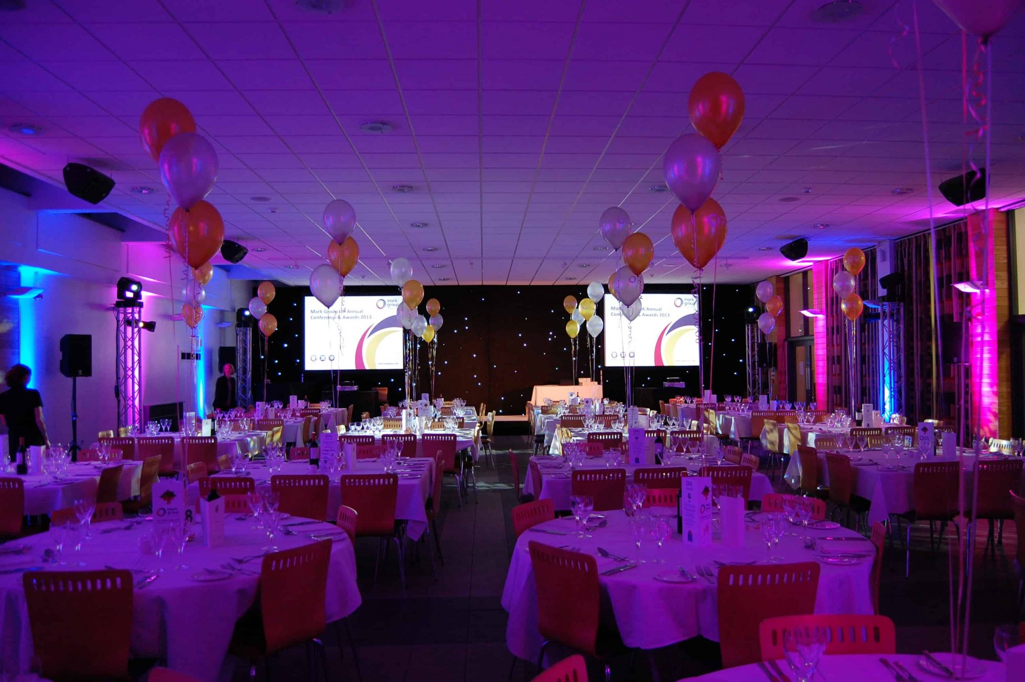 LED screen and lighting hire