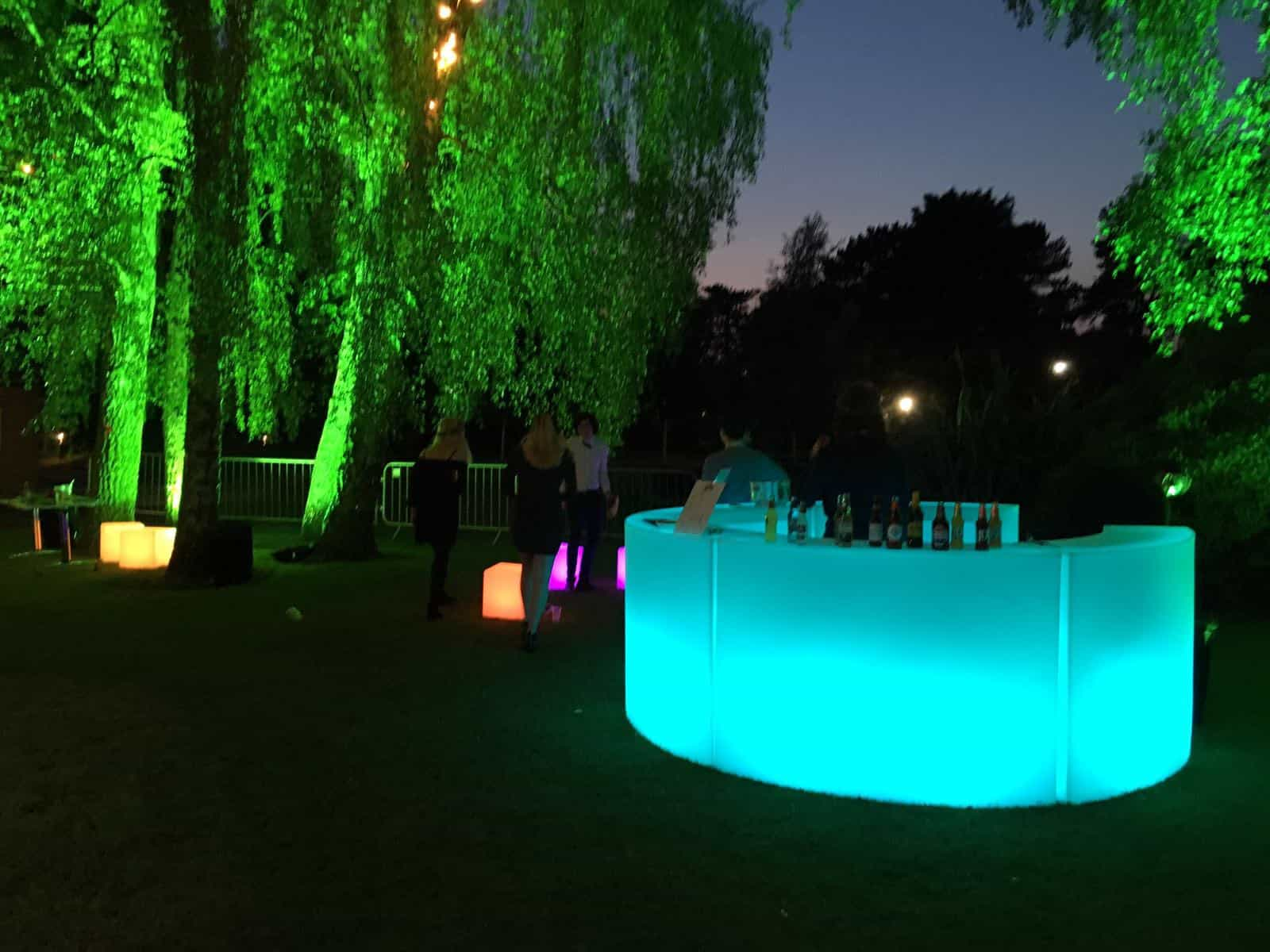 LED Circular Bar hire