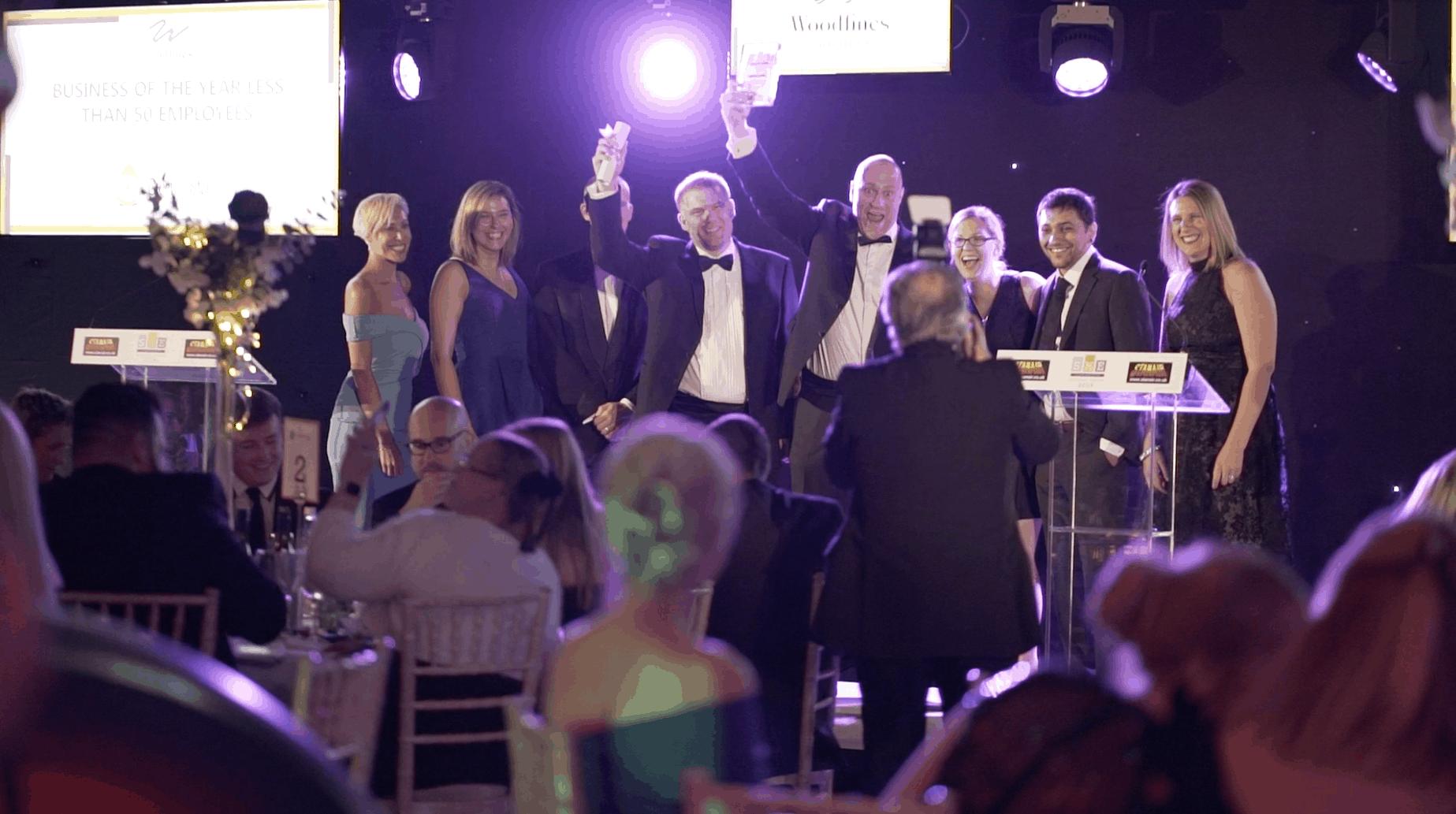 Awards Dinner group photo