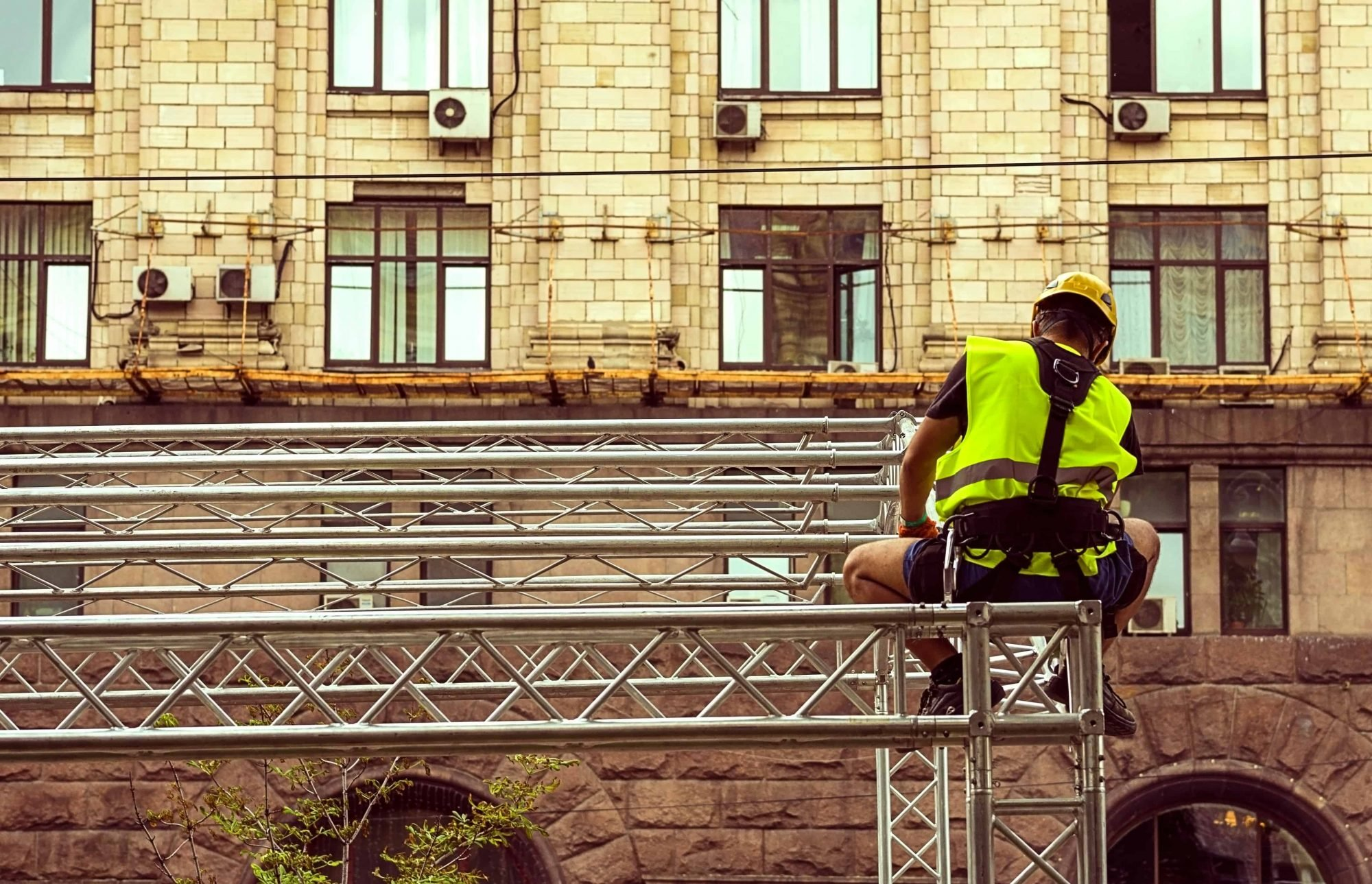 Health and Safety Rigging truss