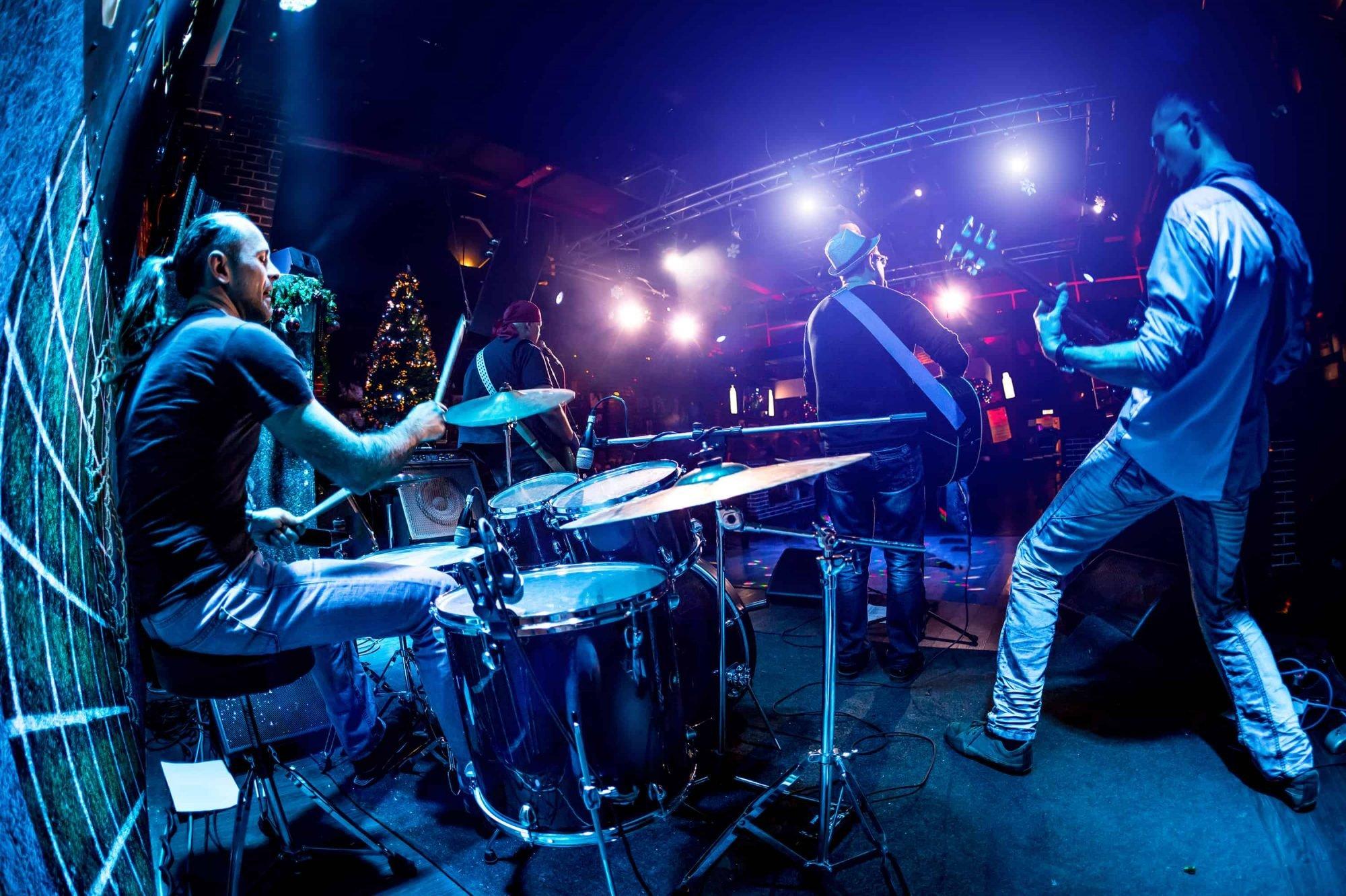 live band equipment