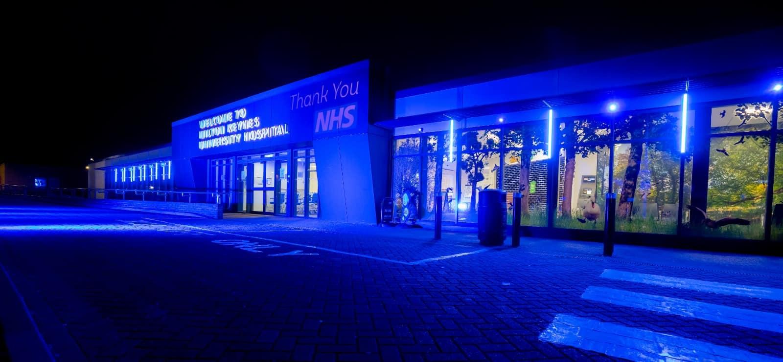 milton keynes university hospital lighting