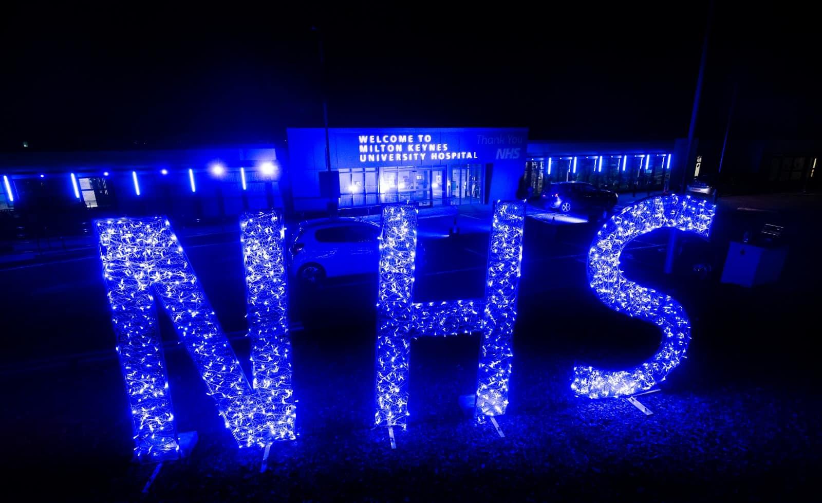 milton keynes university hospital nhs lighting
