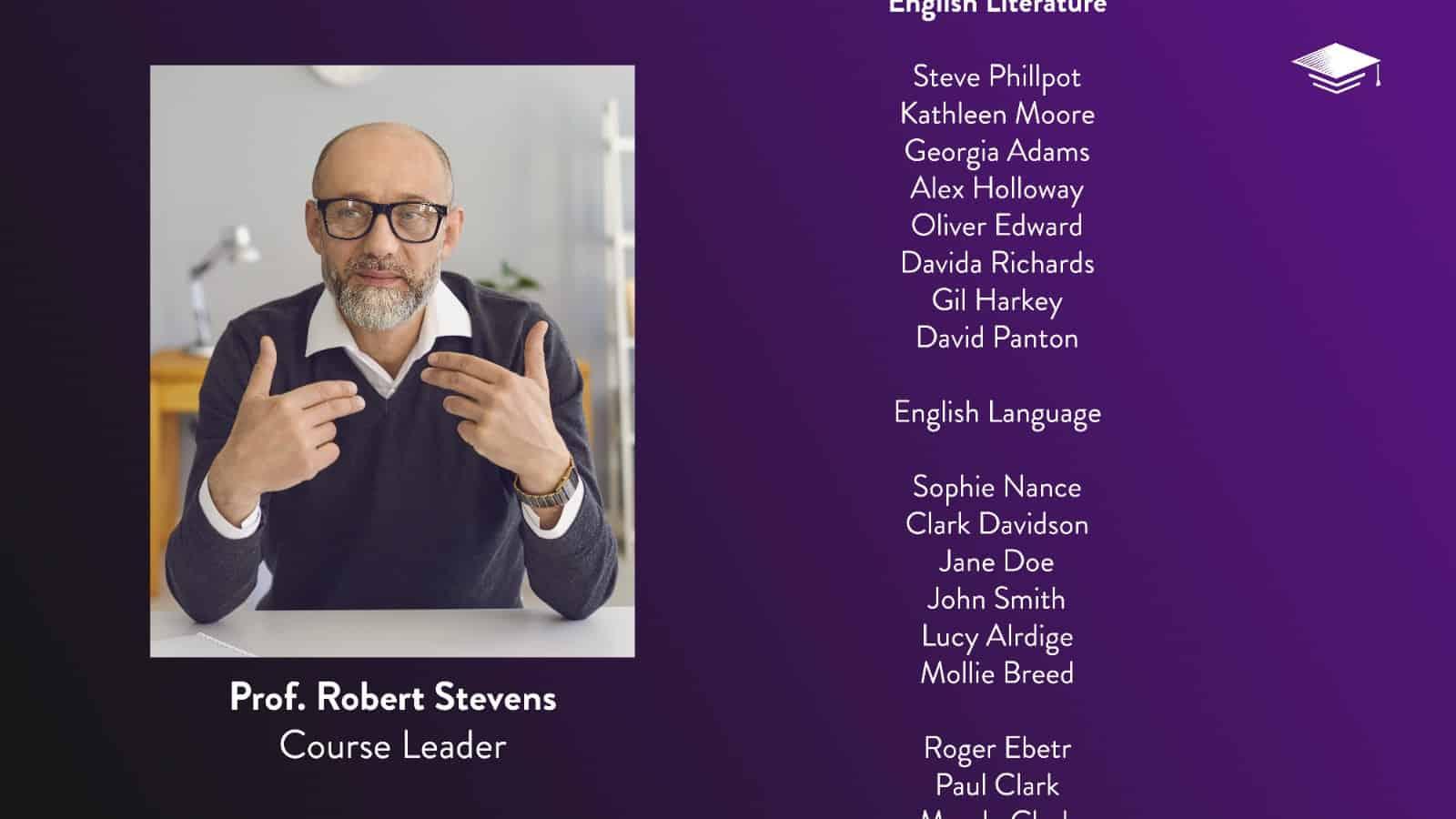 Virtual Graduation Names Scroll