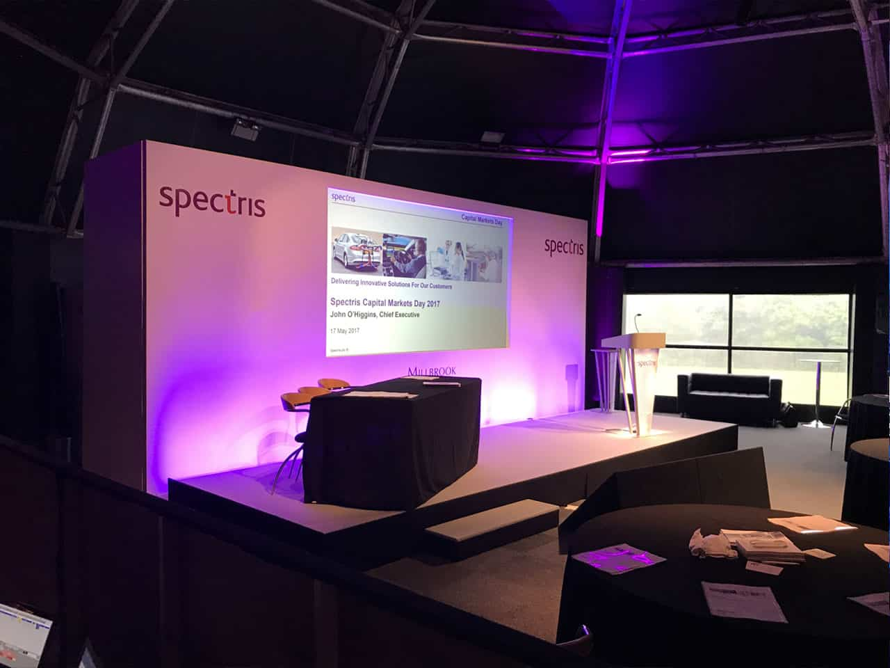 Event Production at Millbrook-Proving Ground in Milton Keynes