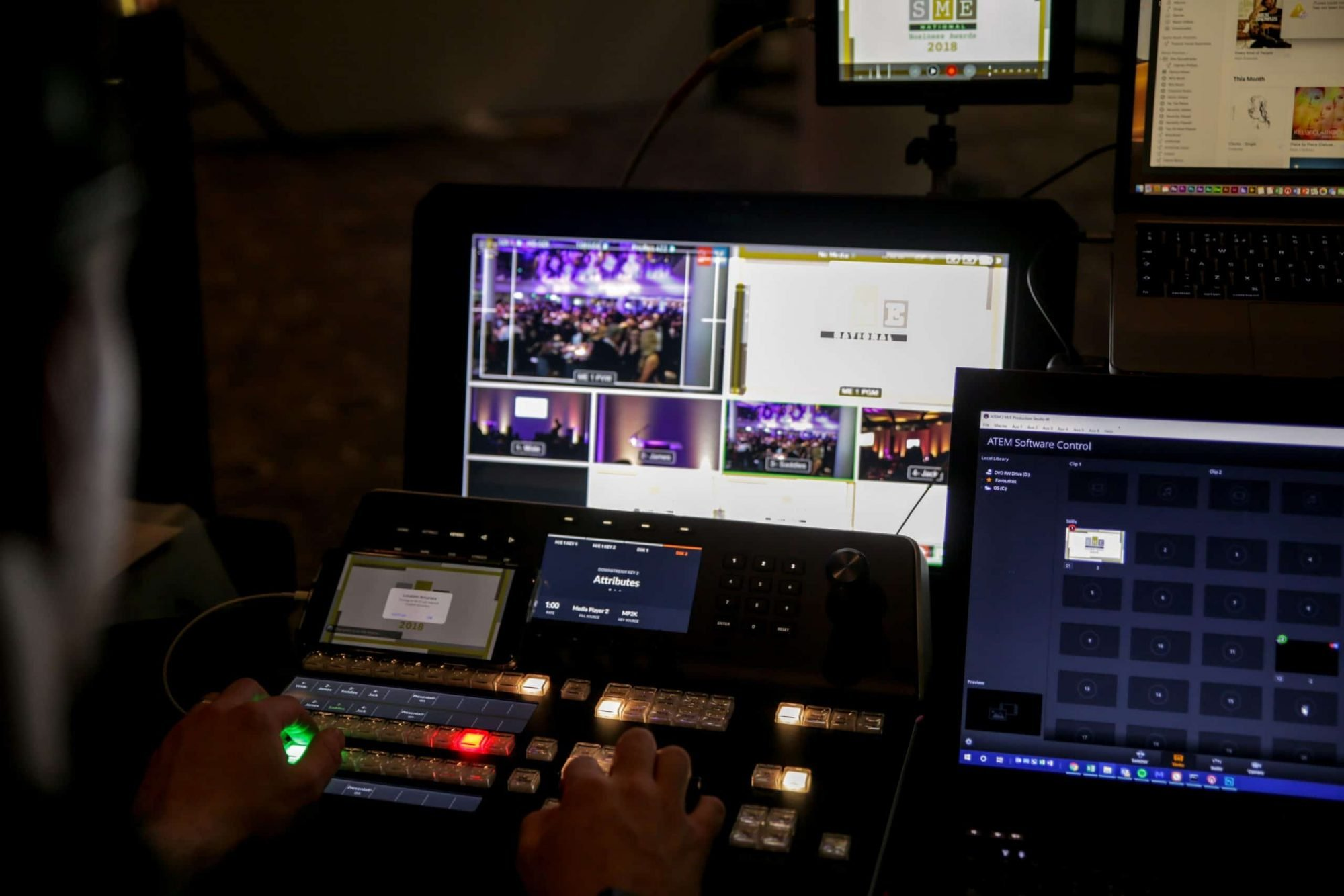 Virtual Studio Production for Client Town Hall Event