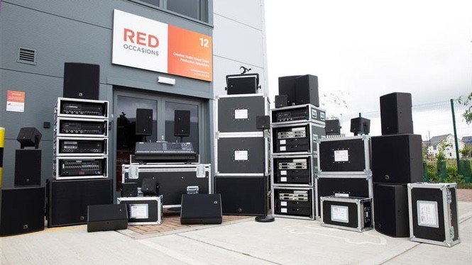 Red Occasions Expands Yamaha, L-Acoustics and Sennheiser Hire Inventory
